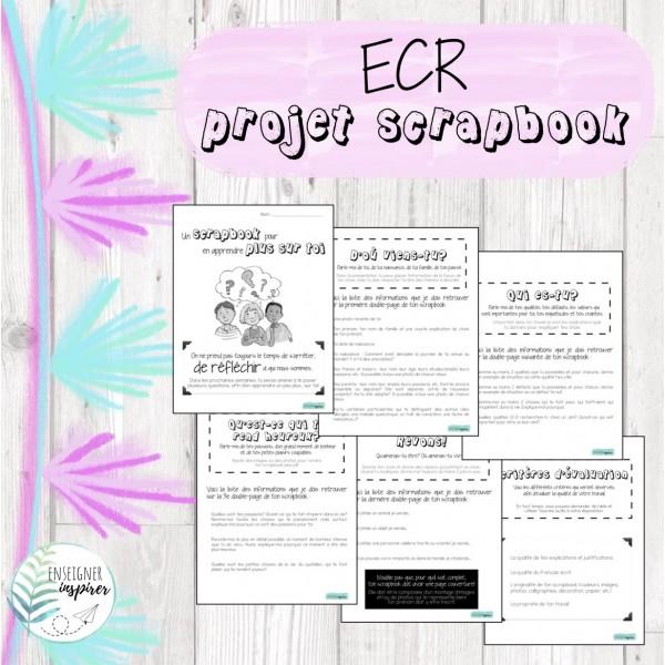 Projet scrapbook