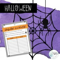 Halloween - Singulier ou pluriel