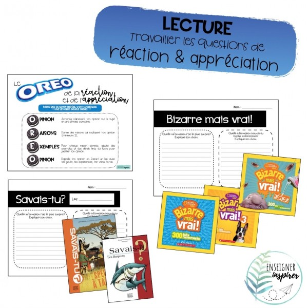 OREO Lecture_Reaction&Appreciation
