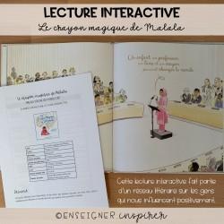 Lecture interactive_Le crayon magique de Malala
