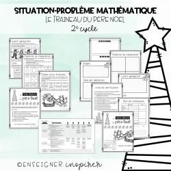 Situation-problème maths Le traineau du père Noël