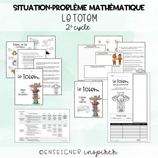Situation-problème math - Le totem