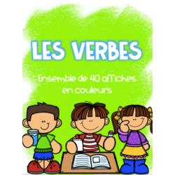 Affiches - Les verbes