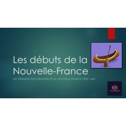 Univers social Les débuts de la Nouvelle-France