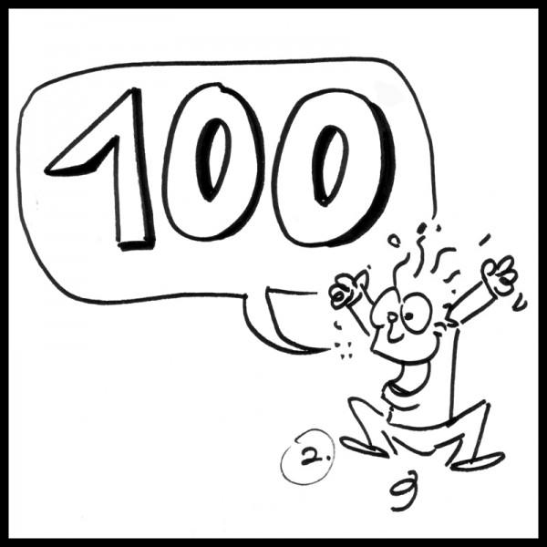 Exercises pour la 100e journée de l'école