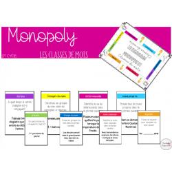 Monopoly des classes de mots