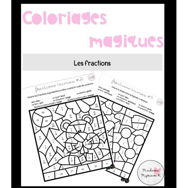 Coloriages magiques_Fractions