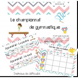 Le championnat de gymnastique