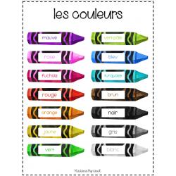 Affiche des couleurs