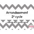 L'arrondissement - Cartes à tâches