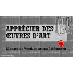Apprécier des oeuvres d'art de Léonard de Vinci