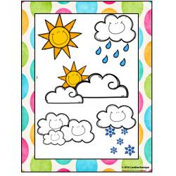 Affiche météo
