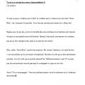 Textes à corriger - français langue seconde
