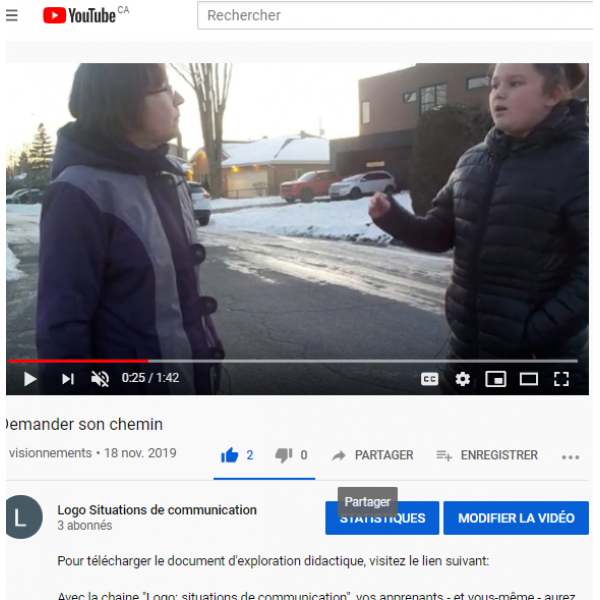 Demander son chemin - Vidéo