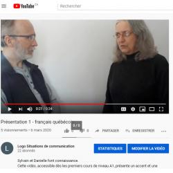 Présentation - A1 - vidéo