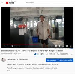 Obligation, permission et interdiction - Vidéo