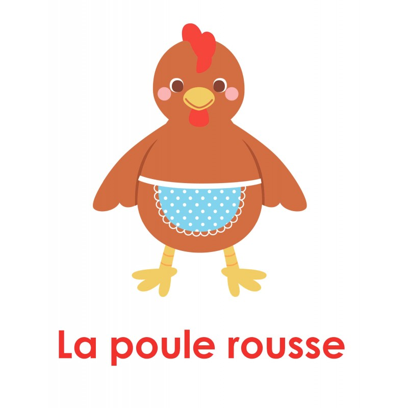 Th tre des lecteurs la petite poule rousse for Prix d une poule rousse
