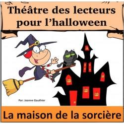 l'halloween Pièce de Théâtre: La sorcière