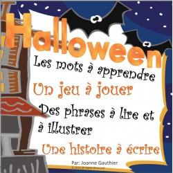 L'halloween: le vocabulaire et l'écriture