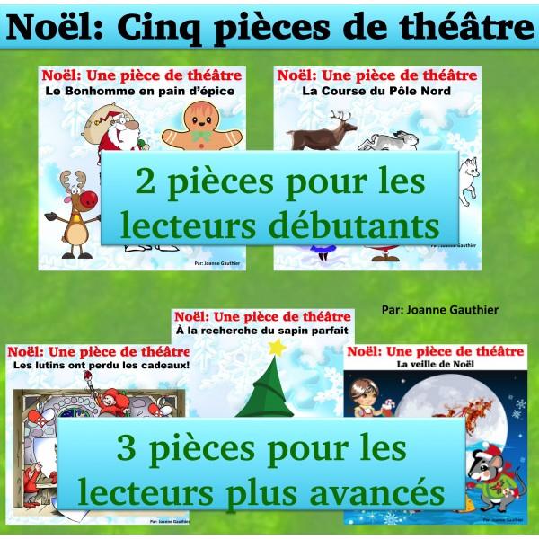 Noël: Cinq pièces de théâtre