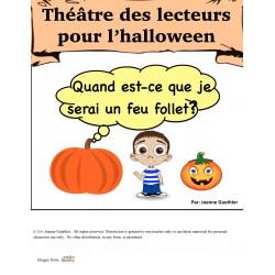 l'halloween Pièce de Théâtre: Le feu follet