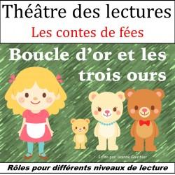 Théâtre des lecteurs - Boucle d'or