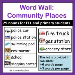Les mots anglais la communauté: Community