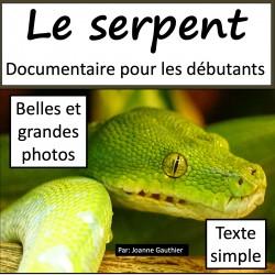Le serpent: livre numérique pour les débutants