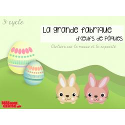 Masse et capacité - Fabrique d'œufs de Pâques
