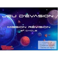 Jeu d'évasion - Mission révision - 2e cycle