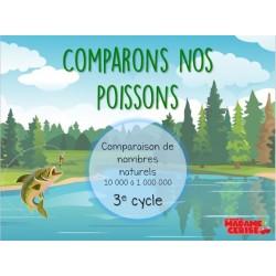 Comparons nos poissons 3e cycle