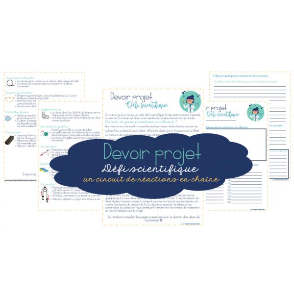 Défi scientifique - Devoir projet