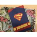 Carte de fête des pères Super Héros