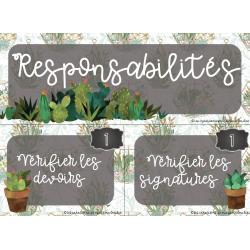 Responsabilités Cactus