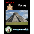 4 mots cachés - Les Mayas