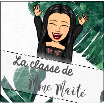 La classe de Mme Maïté