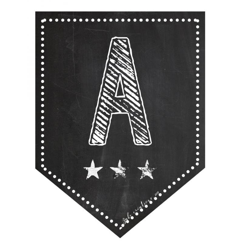 Banderole 26 Lettres De L Alphabet