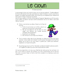Le clown - art dramatique