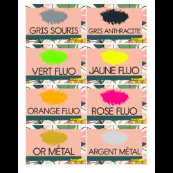 Cartes de couleurs