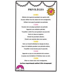 Liste de privilèges