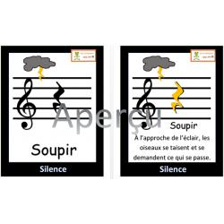 Soupir - notes oiseaux