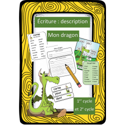 Situation d'écriture - Descriptif - Dragon