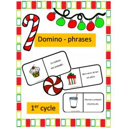 Domino-phrases de Noel