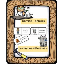 Dominos - phrasés - La clinique vétérinaire