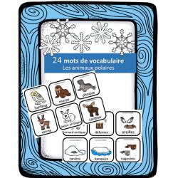 Mots de vocabulaire - Animaux polaires