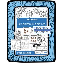 Ensemble complet - Les animaux polaires