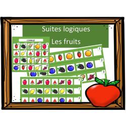 Suites logiques - Les fruits