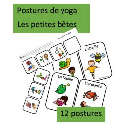 Yoga - Les petites bêtes