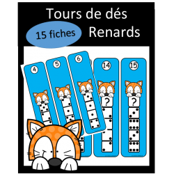 Tours de dés - Renards