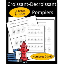 Ordre croissant et décroissant - Pompiers